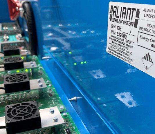 Aliant batterie al litio