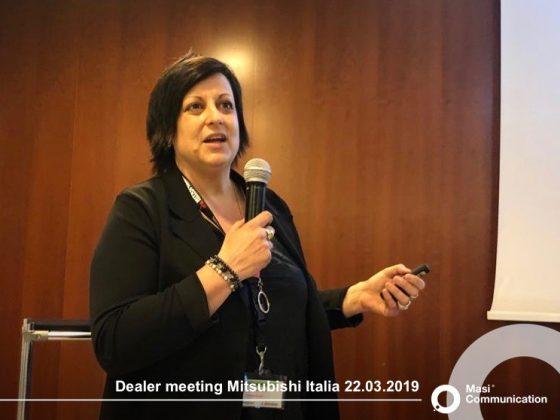 Dealer Meeting Mitsubishi - 22 marzo Luciana Pernigotto