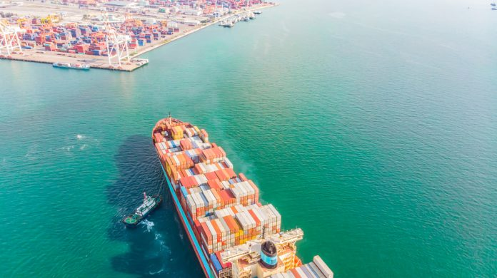 logistica trasporto marittimo blockchain