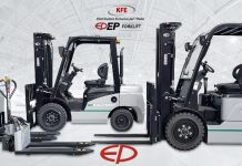 Ep Forklift e la tecnologia agli ioni di litio