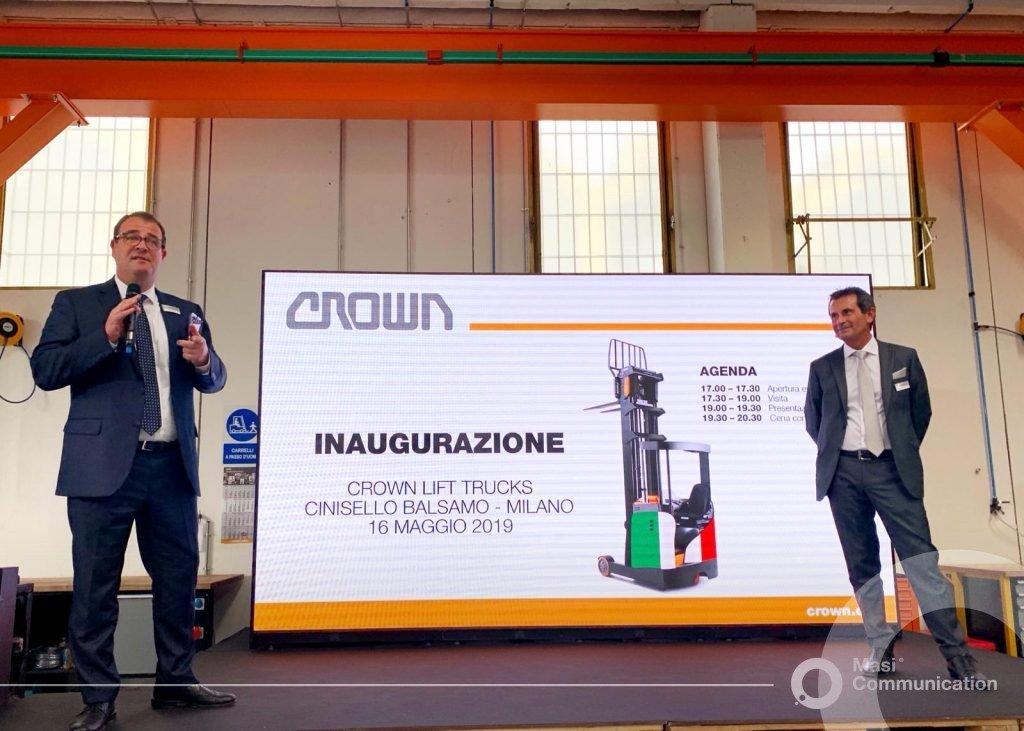 Crown: nuova sede inaugurata a Cinisello Balsamo