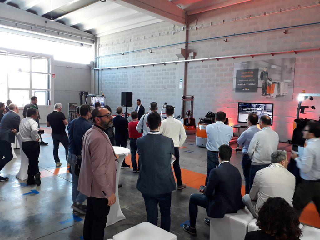 Now The Future Day: Open Day alla Filiale Adriatica STILL di Modugno
