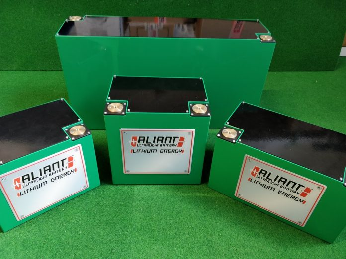 Le ultime novità in casa Aliant Ultralight battery