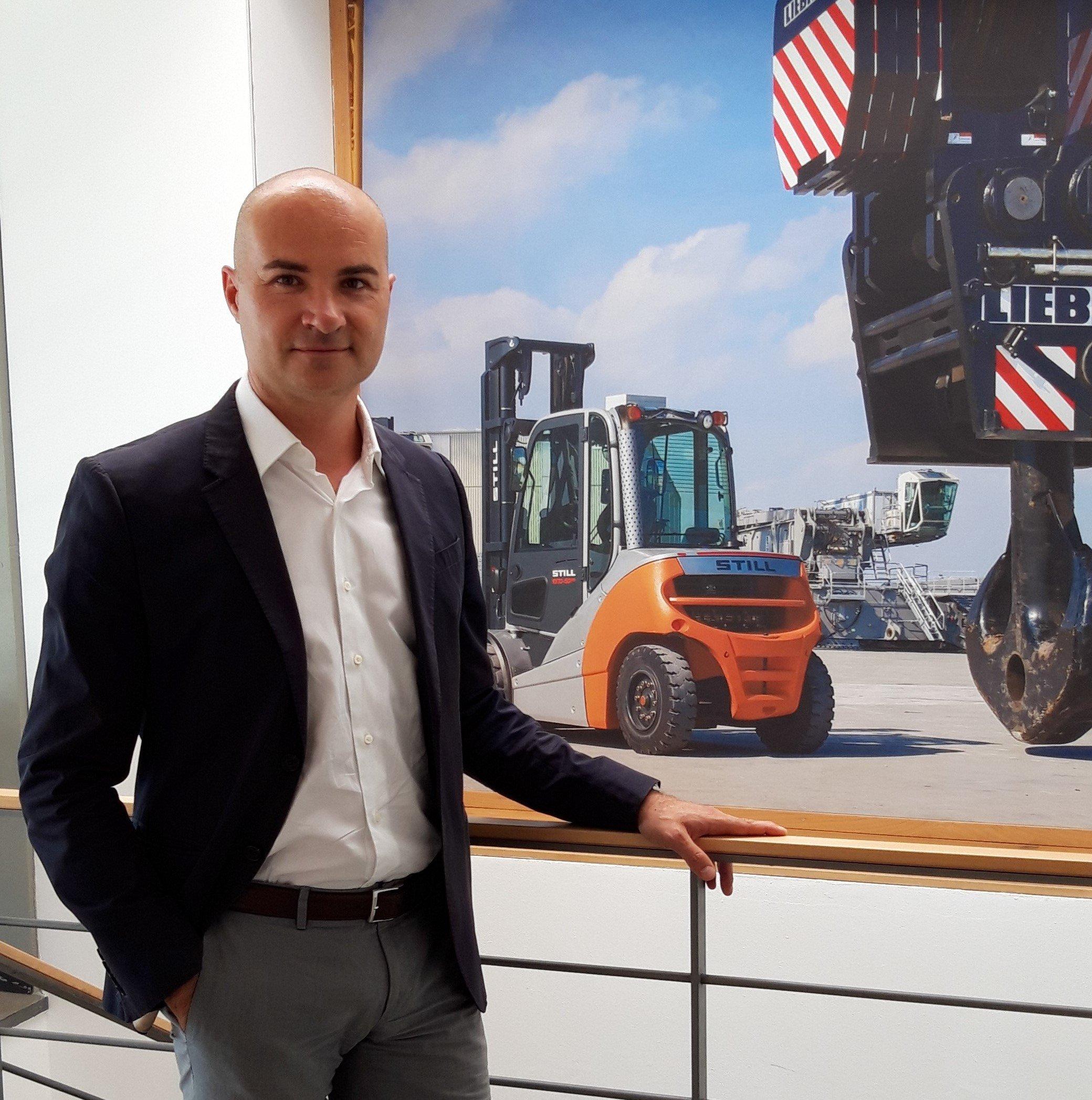 Andrea Manghi, Sales Manager della Filiale Emilia STILL di Parma