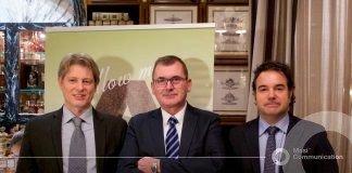 Antonio Boschetti, L'Informatore Agrario - Maurizio Danese Presidente VeronaFiere - Daniele Salvagno, Consigliere Verona Fiere