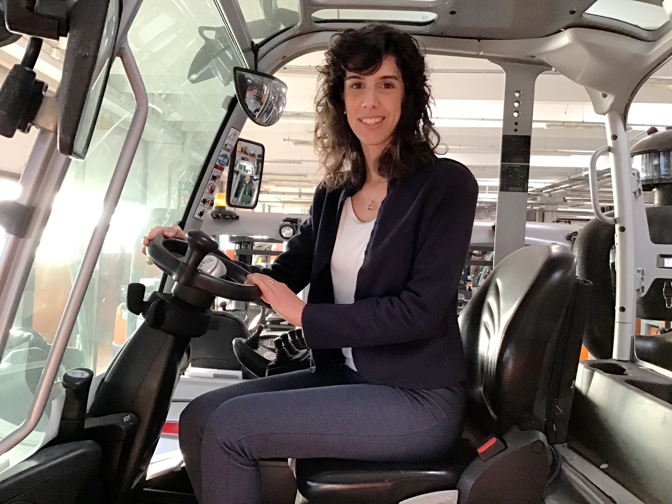 Claudia Tomboni, Responsabile Health, Safety & Environment di STILL in Italia