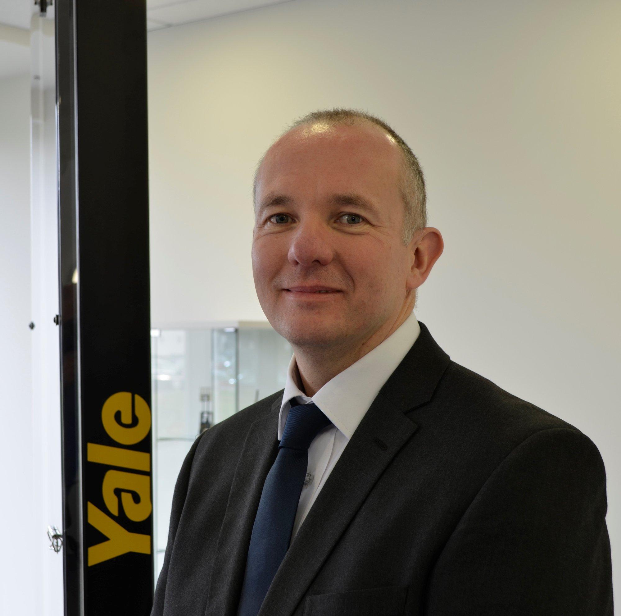 Matt Hardy, Yale Solutions Manager EMEA