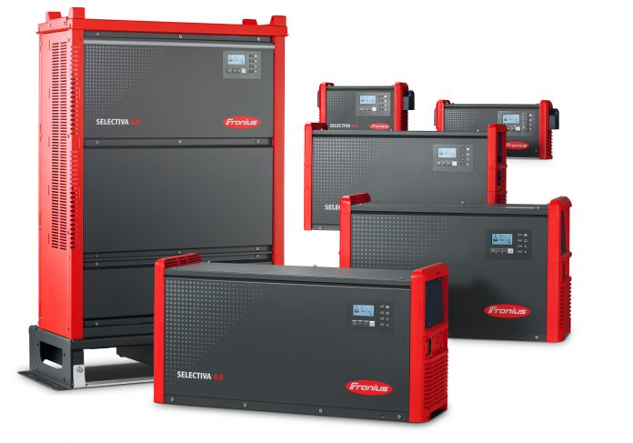 Fronius introduce sul mercato una nuova generazione di caricabatterie con Selectiva 4.0