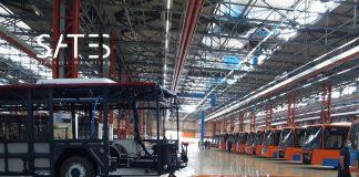 Industria Italiana Autobus sceglie Robik per la movimentazione dei suoi prodotti