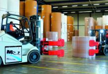 I carrelli elevatori Montini MR 6 e MR 7: la soluzione logistica vincente per l'industria cartaria