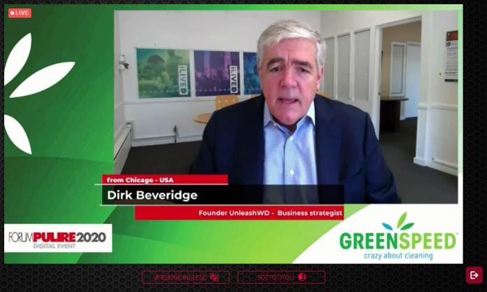 Dirk Beveridge Fondatore UnleashWD, imprenditore, ricercatore, autore, strategia aziendale