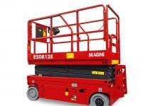 La nuova piattaforma ES0812E di Magni per lavorare facilmente in spazi ristretti