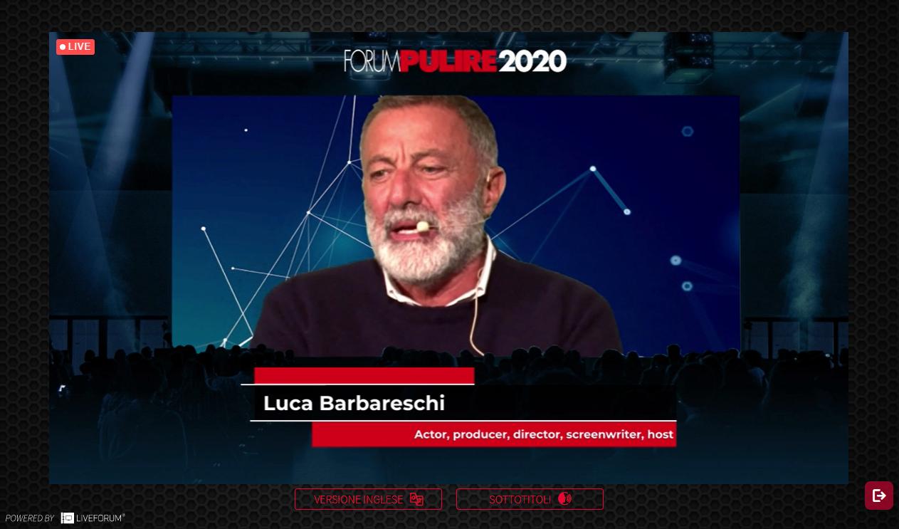 Luca Barbareschi, attore, regista e produttore
