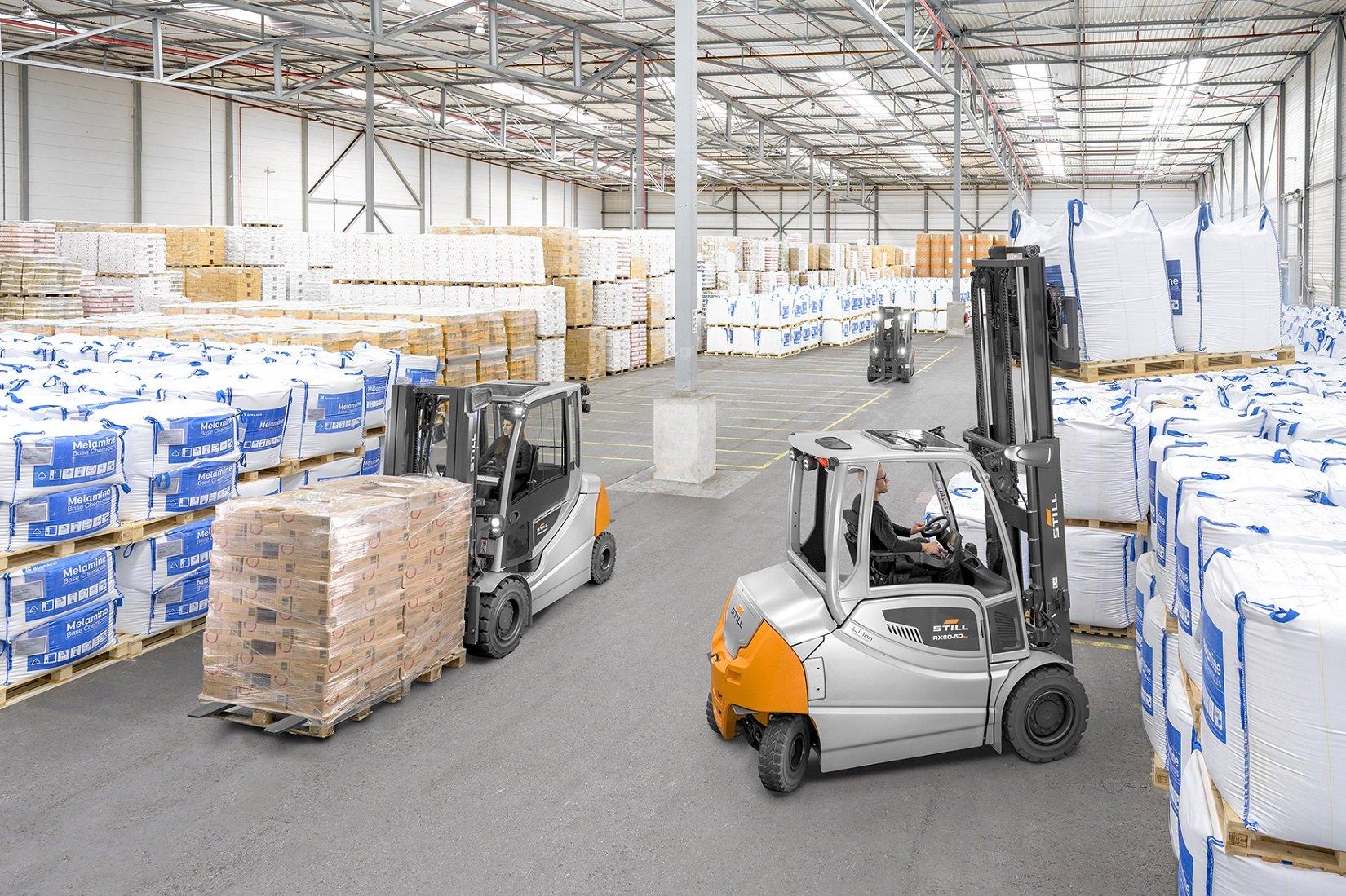 Still: i nuovi RX 60-35/50, il ruolo degli elettrici nella logistica a zero emissioni
