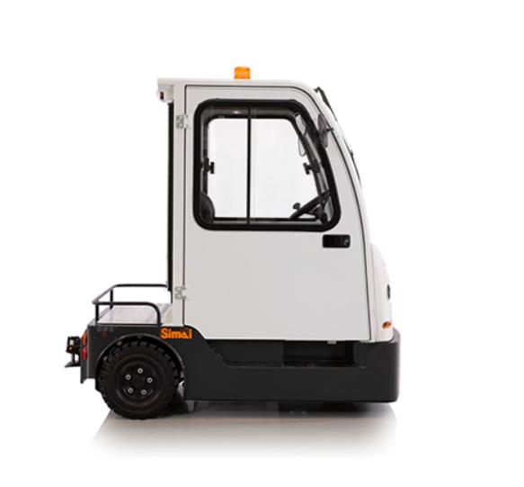 SIMAI TTE100: il trattore elettrico a tre ruote per la movimentazione orizzontale