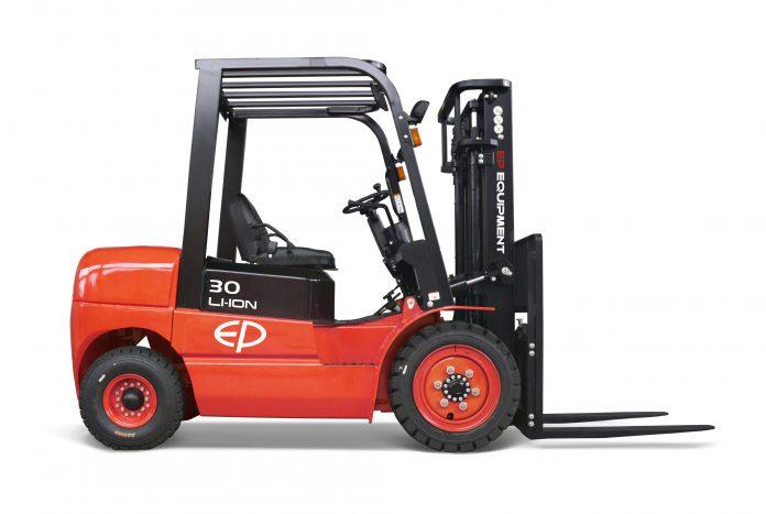 Il carrello termico EFL302 convertito alla tecnologia agli ioni di litio di Ep rivoluziona il settore della movimentazione