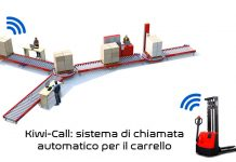 Kiwicall Sistema di chiamata automatico per carrello Kiwitron